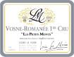Lucien Le Moine Vosne-Romanée Premier Cru Les Petits Monts - label