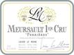 Lucien Le Moine Meursault Premier Cru Perrières - label