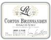 Lucien Le Moine Corton Grand Cru Bressandes - label
