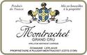 Domaine Leflaive Montrachet Grand Cru  - label