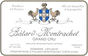 Domaine Leflaive Bâtard-Montrachet Grand Cru  - label