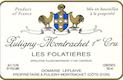 Domaine Leflaive Puligny-Montrachet Premier Cru Les Folatières - label