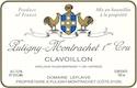 Domaine Leflaive Puligny-Montrachet Premier Cru Clavoillon - label