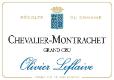 Olivier Leflaive Chevalier-Montrachet Grand Cru  - label