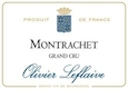 Olivier Leflaive Montrachet Grand Cru  - label