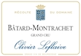 Olivier Leflaive Bâtard-Montrachet Grand Cru  - label