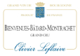 Olivier Leflaive Bienvenues-Bâtard-Montrachet Grand Cru  - label