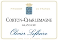 Olivier Leflaive Corton-Charlemagne Grand Cru  - label