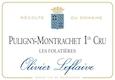 Olivier Leflaive Puligny-Montrachet Premier Cru Les Folatières - label
