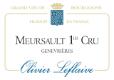 Olivier Leflaive Meursault Premier Cru Genevrières - label
