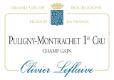 Olivier Leflaive Puligny-Montrachet Premier Cru Champ Gain - label