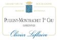 Olivier Leflaive Puligny-Montrachet Premier Cru La Garenne - label