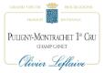 Olivier Leflaive Puligny-Montrachet Premier Cru Champ Canet - label