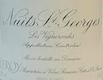 Domaine Leroy Nuits-Saint-Georges Premier Cru Les Vignes Rondes - label