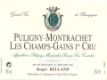 Domaine Roger Belland Puligny-Montrachet Premier Cru Champ Gain - label