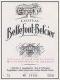 Château Bellefont-Belcier  Grand Cru Classé - label