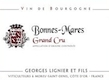 Domaine Georges Lignier et Fils Bonnes-Mares Grand Cru  - label