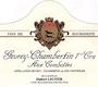 Domaine Hubert Lignier Gevrey-Chambertin Premier Cru Aux Combottes - label