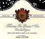 Domaine Hubert Lignier Morey-Saint-Denis Premier Cru Vieilles vignes - label