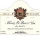 Domaine Hubert Lignier Morey-Saint-Denis Premier Cru La Riotte - label