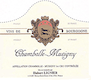 Domaine Hubert Lignier Chambolle-Musigny Vieilles Vignes - label