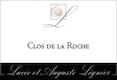Lucie et Auguste Lignier Clos de la Roche Grand Cru  - label