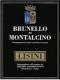 Azienda Lisini Brunello di Montalcino  - label