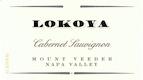 Lokoya Mount Veeder Cabernet Sauvignon - label