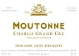Domaine Long-Depaquit Chablis Grand Cru Moutonne - label