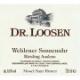 Dr. Loosen Wehlener Sonnenuhr Riesling Auslese Goldkapsel - label