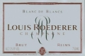 Louis Roederer Blanc de Blancs - label