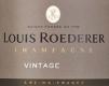 Louis Roederer Brut Vintage - label