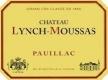 Château Lynch-Moussas  Cinquième Cru - label