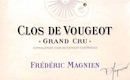 Frédéric Magnien Clos de Vougeot Grand Cru  - label