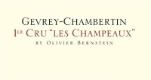Olivier Bernstein Gevrey-Chambertin Premier Cru Champeaux - label