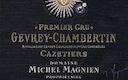 Domaine Michel Magnien Gevrey-Chambertin Premier Cru Les Cazetiers - label