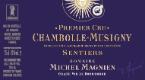 Domaine Michel Magnien Chambolle-Musigny Premier Cru Les Sentiers - label