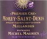 Domaine Michel Magnien Morey-Saint-Denis Premier Cru Les Millandes - label