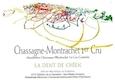 Château de la Maltroye Chassagne-Montrachet Premier Cru Dent de Chien - label