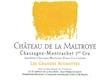 Château de la Maltroye Chassagne-Montrachet Premier Cru Grandes Ruchottes - label