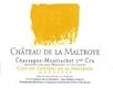 Château de la Maltroye Chassagne-Montrachet Premier Cru Clos du Château de la Maltroye Monopole - label