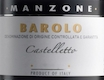 Giovanni Manzone Barolo Castelletto - label