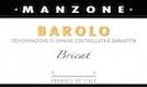 Giovanni Manzone Barolo Bricat - label