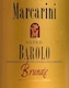Marcarini Barolo Brunate - label
