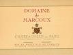 Domaine de Marcoux Châteauneuf-du-Pape  - label
