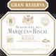 Marques de Riscal Rioja  Gran Reserva - label