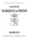 Château Marquis de Terme  Quatrième Cru - label