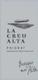 Bodegas Mas Alta Creu Alta - label