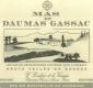 Mas de Daumas Gassac Rouge - label
