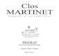 Mas Martinet Clos Martinet - label
